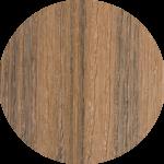 TIVADEK-Designer-Tigerwood Circle