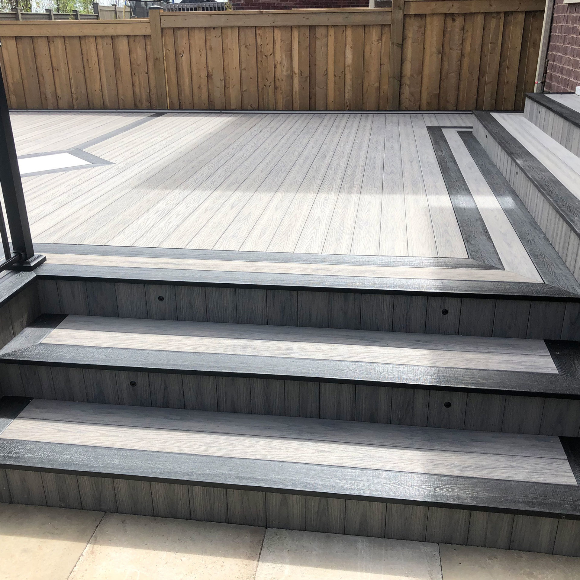 Tivadeck-Oakville-Deck-Black-and-Grey-Deck-Stairs-Fascia-Riser