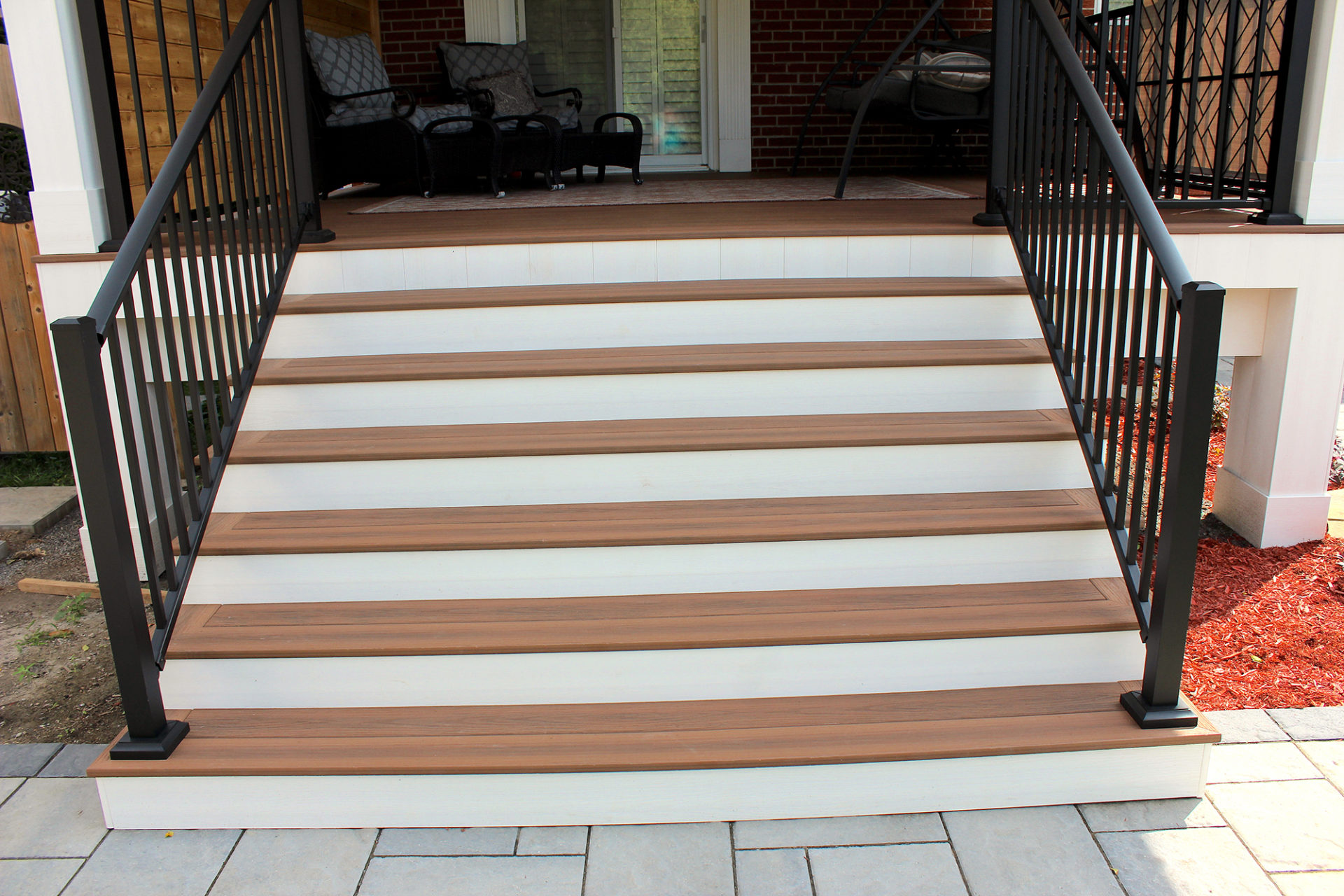 TIVADEK Mississauga Backyard Deck